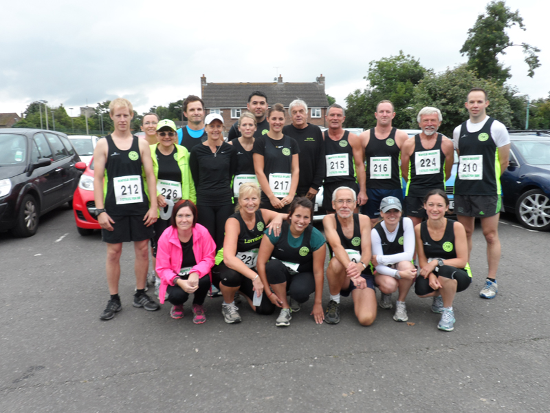 Goring Road Runners - Seven Styles - 14th September 2013